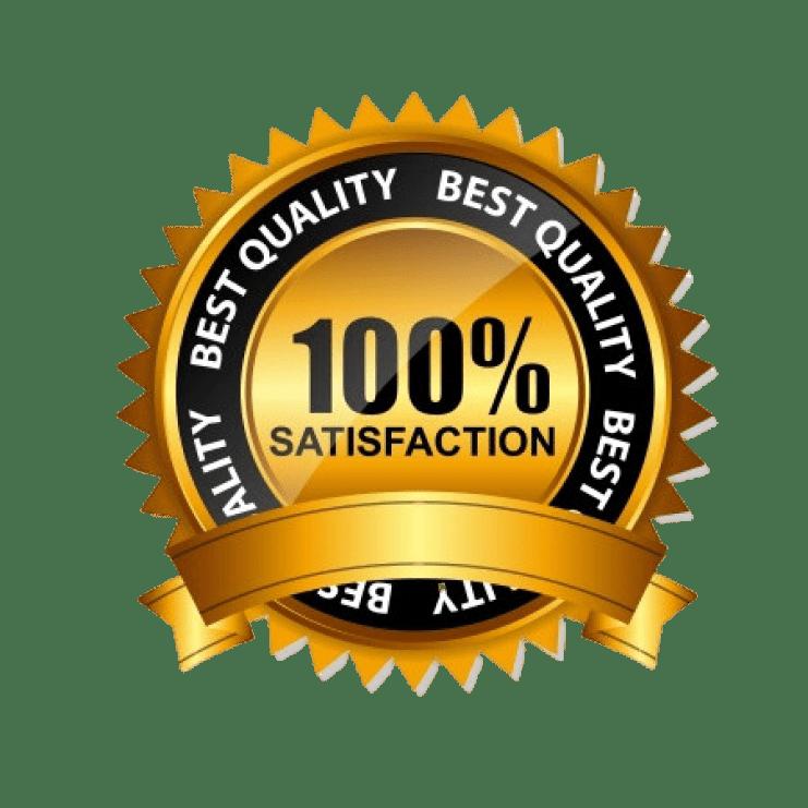 100% satisfaction image