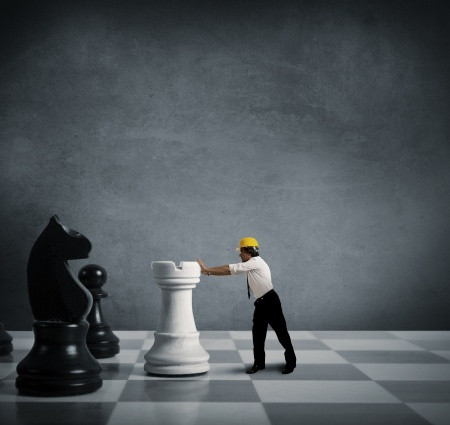 Business Owner Giving Up Chess Piece He Does not Need