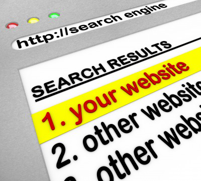 Website Ranking First on Search Engines